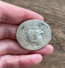 MACEDON. ALEXANDER THE GREAT (336-323 B.C). SILVER TETRADRACHM. LARGE FLAN.