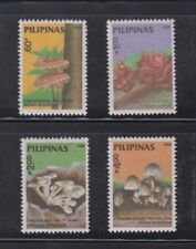 Philippine Stamps 1988 Edible Mushrooms Complete set MNH