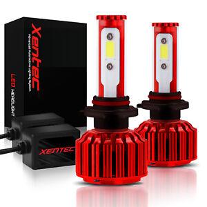 Xentec LED Light Conversion Kit Headlight High and Low 9004 HB1 6000K White