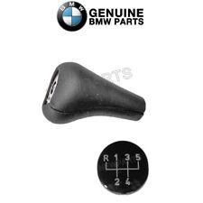 For BMW E21 E24 E28 E36 Leather Manual Transmission Shift Knob w/ Emblem Genuine