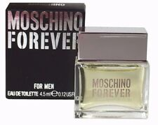 Mini Miniature Men Aftershave Moschino Forever 4.5ml EDT Perfume