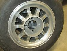 "MGB 14""  ALUMINUM  WHEELS RIMS 4X114.3 4X4.5 NISSAN DATSUN 240Z small blumishes"