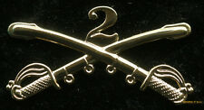XL 2ND CAVALRY SABER HAT PIN US ARMY VETERAN GIFT SABERS SECOND CAV SWORD WOW