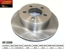 Disc Brake Rotor-Standard Brake Rotor Front Best Brake GP5396