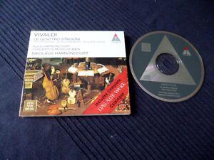 CD VIVALDI Four Seasons Vier Jahreszeiten Nikolaus & Alice HARNONCOURT + KATALOG