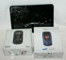 "Lot of 3 Casio Commando Motorola Samsung Smooth XOOM T56MT1 Tablet 10"" Phones"