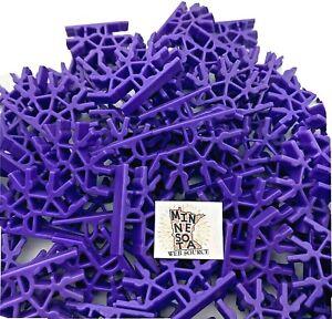200 Knex Purple 4 Position 3D Connectors - Standard K'nex Parts Lot