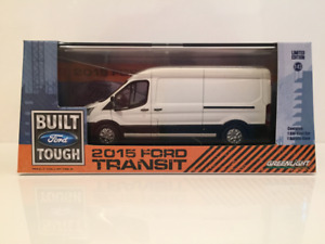 Ford Transit 2015 White Greenlight 86039 New 1:43 Scale