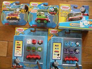 THOMAS & Friends Take-n-Play Talking Salty, Percy, Paxton, train maker NEW