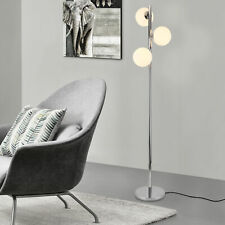 [lux.pro] Stehleuchte 154cm Stehlampe Standleuchte Stand Lampe Metall 3-flammig