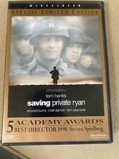Special Limited Edition Saving Private Ryan Wide Screen Starring Tom Hanks Dvd