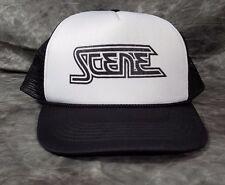 Cleveland Scene Magazine Hat - Black and white, snap back