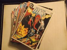 NEW TEEN TITANS # 1, 2, 3, 4, 5, 6-49 + ANNUAL # 1 COMPLETE SET / LOT / RUN