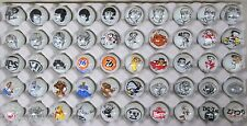 50 Advertising & Cartoon Logo 1 Inch Marbles Great For Collecting / Resale lot J