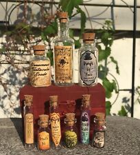 Halloween Small Apothecary Potion Bottles Harry Potter Decorations Prop Unique