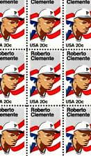 1984 - ROBERTO CLEMENTE - #2097 Full Mint -MNH- Sheet of 50 Postage Stamps