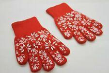 Temp-tations Oven Safe Gloves with Silicone Accents SMALL RED RTL$22