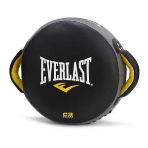 EVERLAST MMA Punch Shield Pad Boxing Kickboxing Muaythai Training Surpport Black