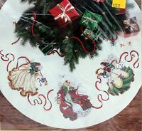 Dimensions Gold Collection Mystical Angel Tree Skirt Counted Cross Stitch 8474