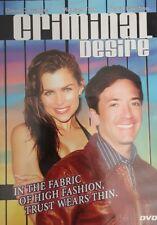 Criminal Desire (DVD 2006) David Carradine Michael York David Faustino