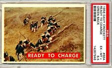 1956 Davy Crockett # 66A  Ready To Charge - PSA 6.5