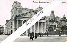 Aachen Stadtteater 5.8.1915 Kaiser Wilhelm Denkmal FELDPOST Theater  PK