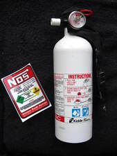 NEW DECAL For Fire Extinguisher NOS LABEL STICKER ZEX Looks Like NITROUS BOTTLE