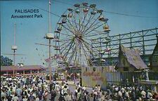 Palisades Amusement Park, New Jersey, Ferris wheel, Riesenrad, Nj - Postcard