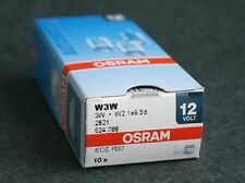10pcs osram 2821 W3W 12V3W W2,1X9,5d 3200K Auxiliary light bulb
