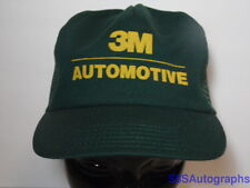 Vintage 1980s 3M AUTOMOTIVE Car Repair Tape Advertising Snapback Hat Trucker Cap