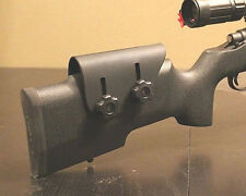 Adjustable Kydex Cheek Rest - Tactical Rifle - Custom Molded - Right Handed Usa