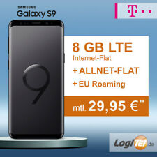 Samsung Galaxy S9 Handy mit Telekom 8GB Vertrag Allnet Flat inkl. 29,95€ mtl.