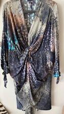 HALSTON Heritage Kleid IT42 / EU 36, 100% Seide, 1A Zustand, flexibel zu tragen