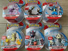Pokemon Battle Figure Set All 6 Packs LUCARIO,UMBREON,ESPEON,GIBLE AND ZORUA