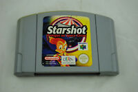 Jeu STARSHOT pour Nintendo 64 N64 version PAL