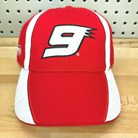 Richard Petty Motorsports Kasey Kahne #9 Red & White Hat YOUTH NWT Cap NASCAR