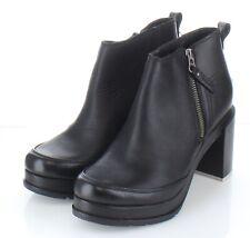 61-49 NEW $190 Women's Sz 8 M Sorel Blake Leather Booties In Black