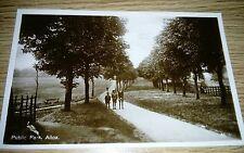 Public Park Alloa Postcard c1910 Un-posted