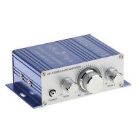 Mini Audio Amplifier - 20W Dual Channel Surround Sound Hifi Stereo Receiver