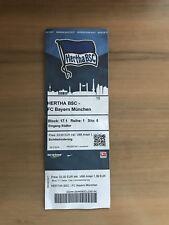 Sammler Ticket Hertha BSC Berlin - FC Bayern München 2016/17 18.02.17 FCB