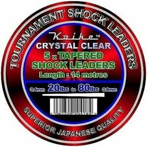 Koike Tournament Tapered Shock Leader