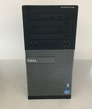 Dell Optiplex Mini-Tower 390 D12M i3-2120 @ 3.30GHz 4GB RAM 320GB HDD
