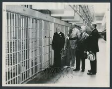 "1934 Alcatraz Cell Reserved for Al Capone, ""This Will Hold Em"" Vintage Photo"