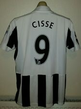 Newcastle UNITED FOOTBALL SHIRT JERSEY TOP CISSE Puma 2012-13 PATCH M