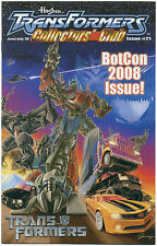 TRANSFORMERS COLLECTORS' CLUB MAGAZINE #21 June July 2008