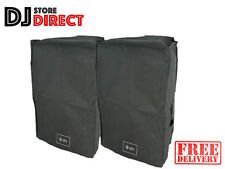 2 X Protective Waterproof Speaker Slip-On Cover BLACK QTX QX / QR 15PA FREE P&P