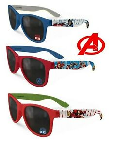 Avengers Licensed Boys Sunglasses Kids Gift Medium Tint UV400 Protection 3+Y