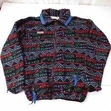 Vintage Columbia Aztec Fleece USA Youth XL