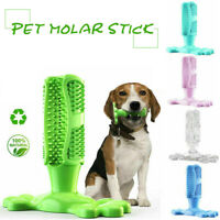 Dog Toothbrush Toy 360° Clean Stick Teeth Chew Rubber Pet Brushing Dental Care