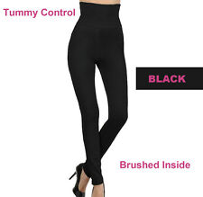 High Waist Thick Winter Tummy Control Skinny High Waist Fleece Legging Pants
